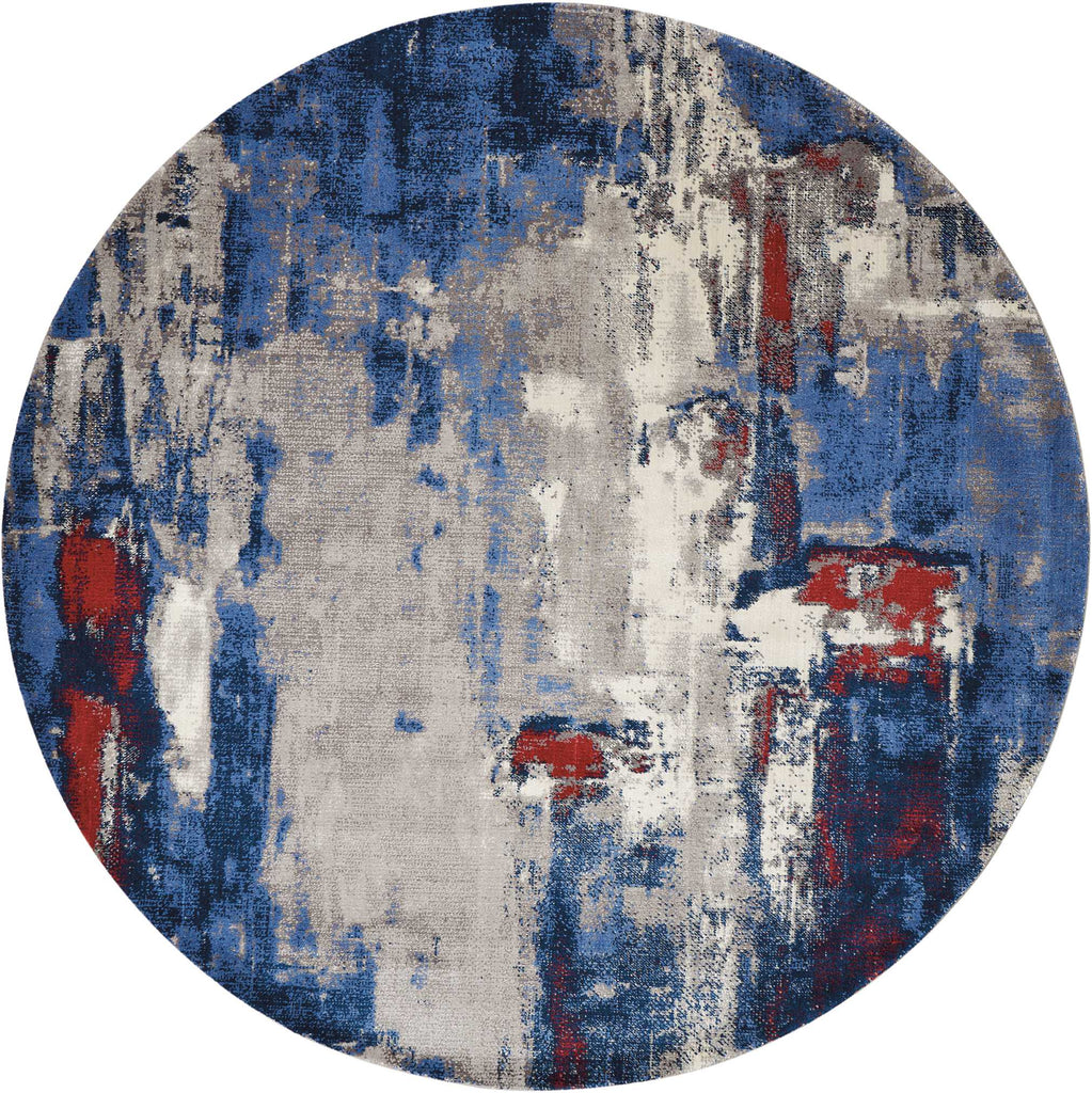 Twilight Rug in Grey/Blue