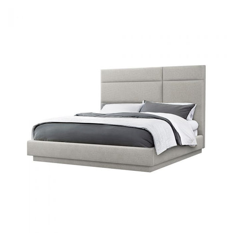 Quadrant California King Bed in Grey