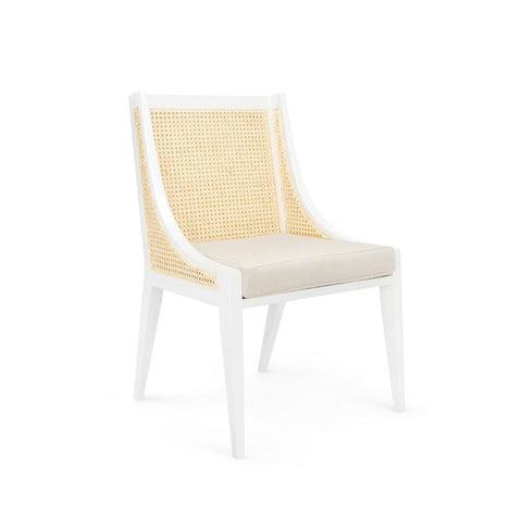 Raleigh Armchair in White by Bungalow 5