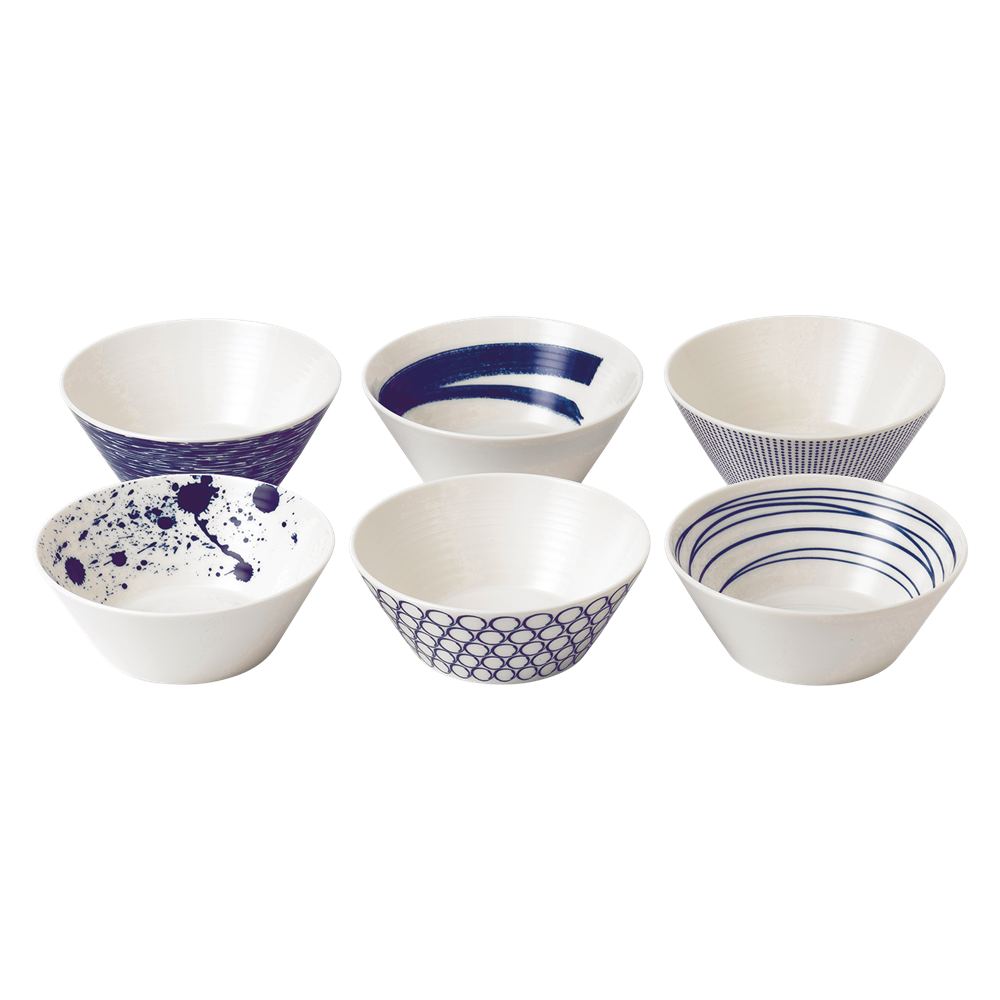 Pacific Blue Cereal Bowl (Set of 6)