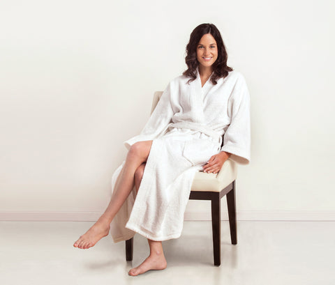 Kimono Terry Bath Robe design by Turkish Towel Company
