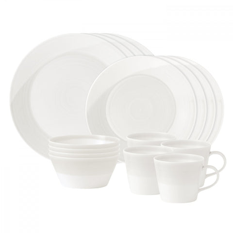1815 White 16-Piece Set by RD