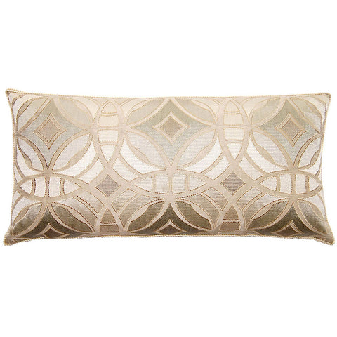 Royal Rings Pillow  in various sizes design by Square feathers