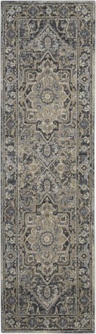 Moroccan Celebration Rug in Navy by Kathy Ireland