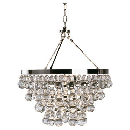 Bling Collection Chandelier w/ Convertable Double Canopy by Robert Abbey