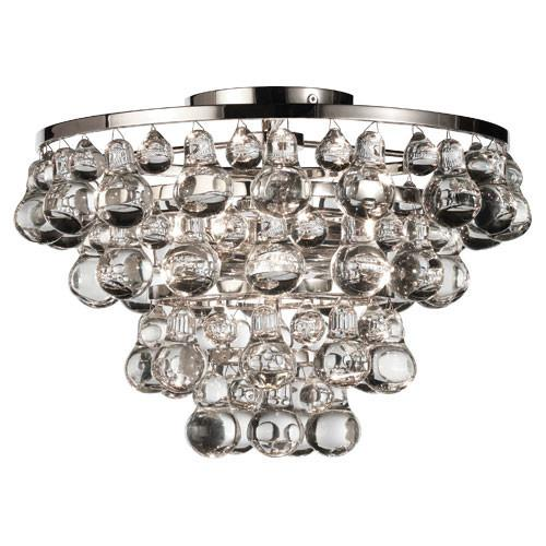 Bling Collection Flush Mount Chandelier design by Robert Abbey