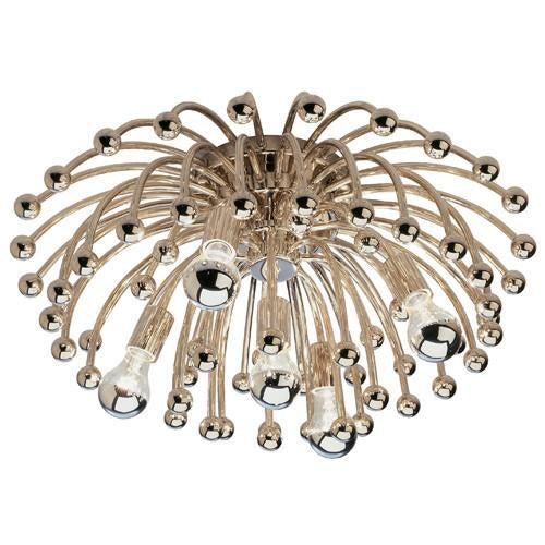 Anemone Collection Flush Mount/Sconce by Robert Abbey