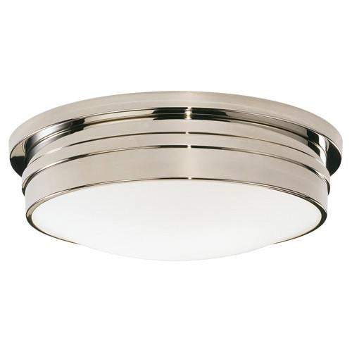 "Roderick Collection 17"" Dia Flush Mount design by Robert Abbey"