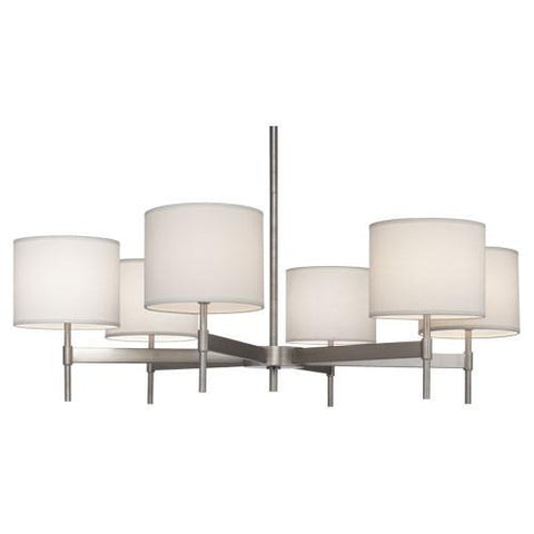 Echo Collection 6-Light Chandelier by Robert Abbey