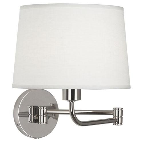 Koleman Collection Swing Arm Sconce by Robert Abbey