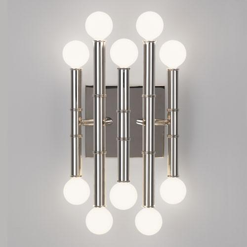 Jonathan adler collection 5 arm sconce design by robert for Home interior 5 arm sconce