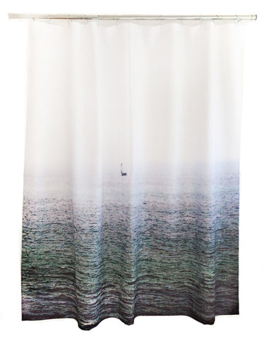 Sailboat Shower Curtain design by elise flashman
