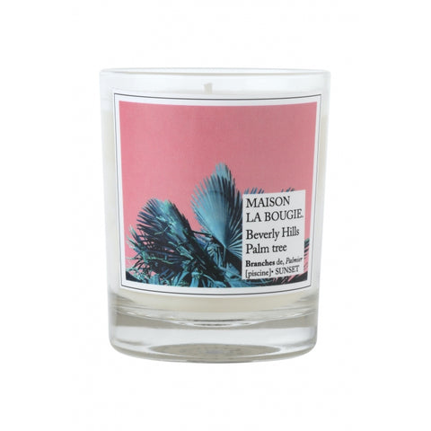 Beverly Hills Palm Tree Scented Candle