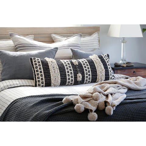 Zuma Blanket Collection in Charcoal
