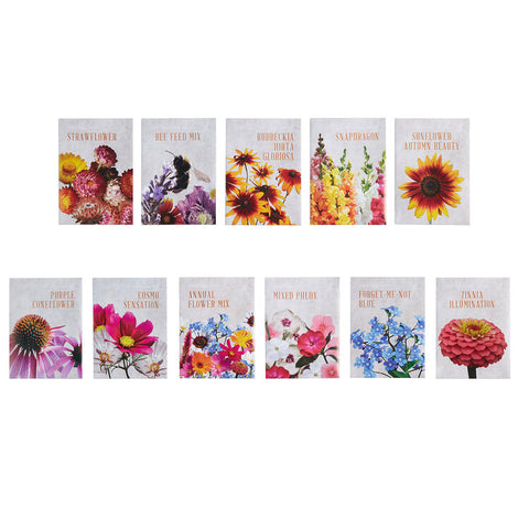 The Floral Society Individual Seeds Assortment