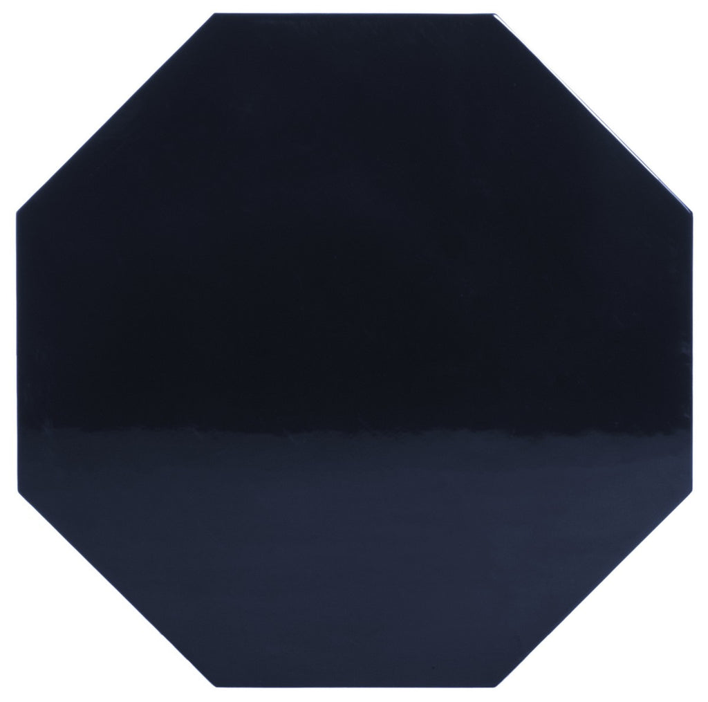 Dafne Lacquer Side Table in Navy design by Safavieh