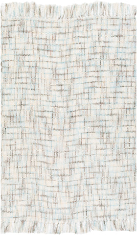 Saugatuck SGK-1000 Hand Woven Throw in Ivory