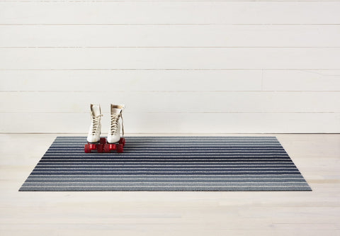 Block Stripe Shag Mats in Various Colors & Sizes