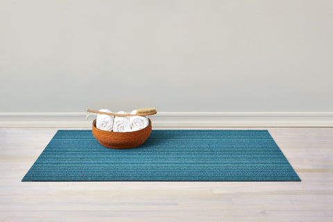 Skinny Stripe Shag Mats in Various Colors & Sizes