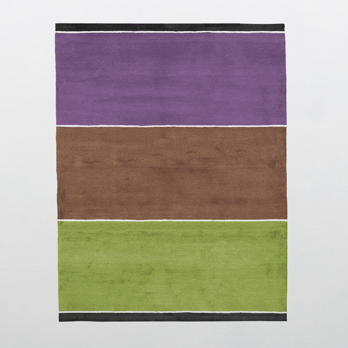 Shida Organic Collection 100% Wool Area Rug in Assorted Colors design by Second Studio