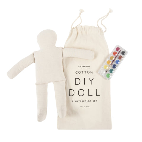 DIY Doll & Watercolor Set design by Sir/Madam
