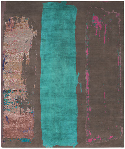 Saruyama Mallorca Hand Knotted Rug in Assorted Colors design by Second Studio
