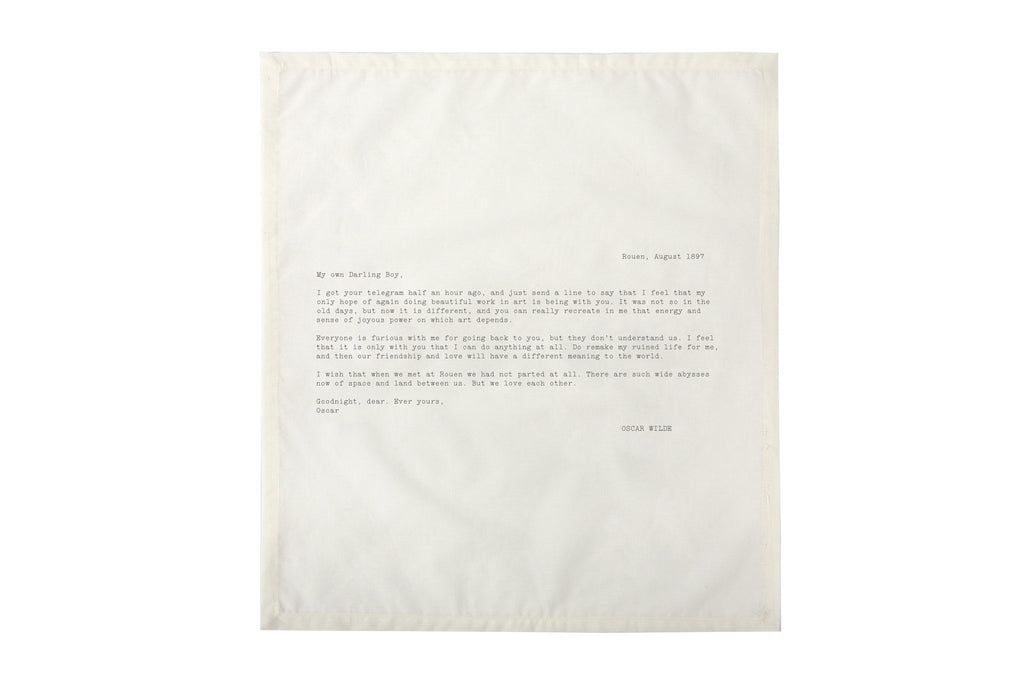 Edition No. 1 Set 3 Love Letters Set of 4 Napkins design by Sir/Madam