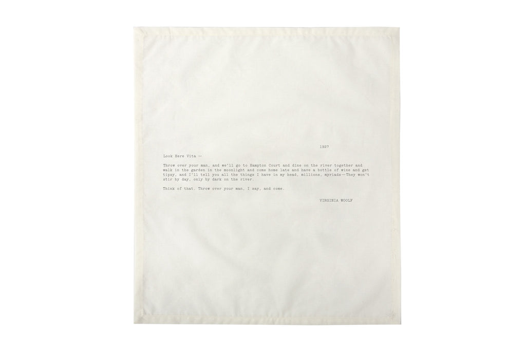 Edition No. 1 Set 3 Love Letters Set of 4 Napkins