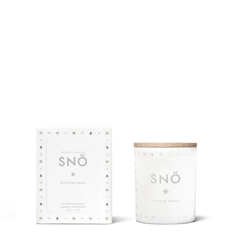 SNÖ Mini Candle by Skandinavisk