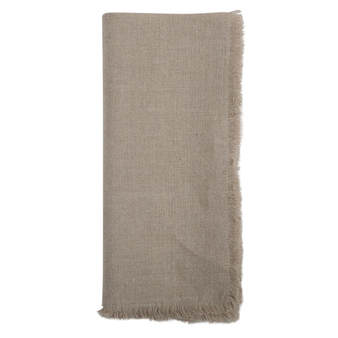 Solid Linen Napkins Set of 4 in Natural design by Sir/Madam