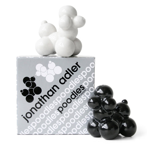 Poodle Salt & Pepper Shakers design by Jonathan Adler