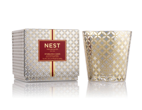 Sparkling Cassis 3-Wick Candle design by Nest Fragrances