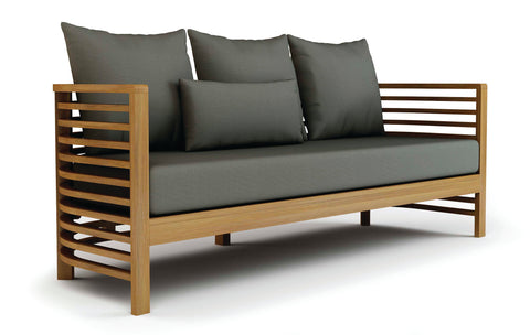 Spirals Teak 3-Seater Sofa by BD Outdoor
