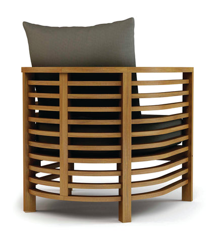 Spirals Teak Lounge Chair by BD Outdoor