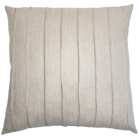 St Tropez Linen Band Pillow in various sizes design by Square feathers