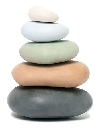 Stacking Stones Eraser Set By Chronicle Books