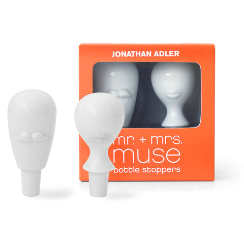 Mr. & Mrs. Muse Bottle Stopper Set