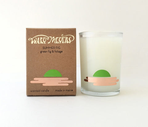 Summer Fig Candle design by Wary Meyers