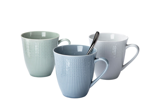 Swedish Grace Mug in Various Sizes and Colors Design by Louise Adelborg X Margot Barolo for Iittala