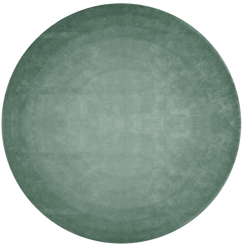 San Ysidro Fade Out Hand Tufted Rug in Green design by Second Studio