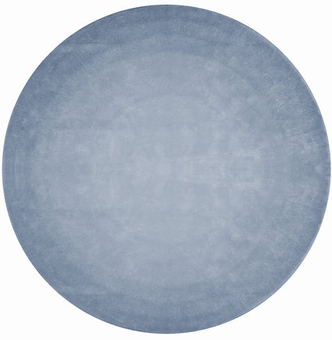 San Ysidro Fade Out Hand Tufted Rug in Blue design by Second Studio