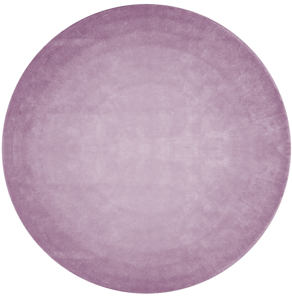 San Ysidro Fade Out Hand Tufted Rug in Purple design by Second Studio