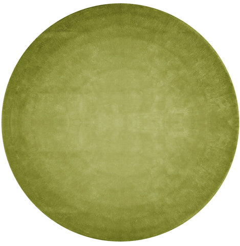 San Ysidro Fade Out Hand Tufted Rug in Light Green design by Second Studio