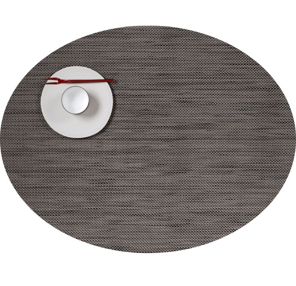 Mini Basketweave Oval Placemats by Chilewich