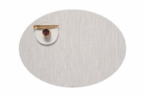 Bamboo Oval Placemat in Various Colors
