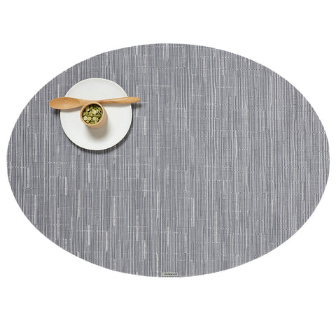 Bamboo Oval Tablemat in Multiple Colors design by Chilewich