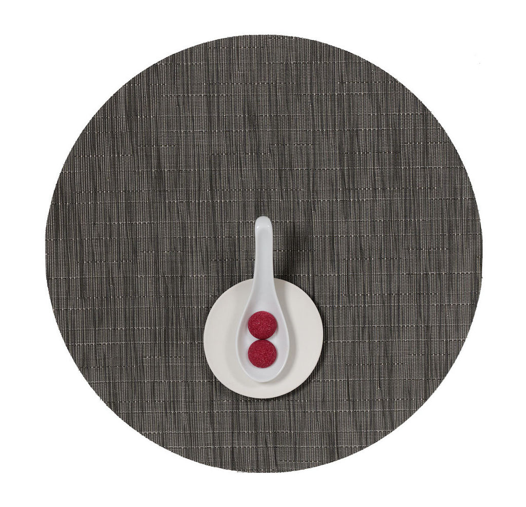 Bamboo Round Placemat in Various Colors