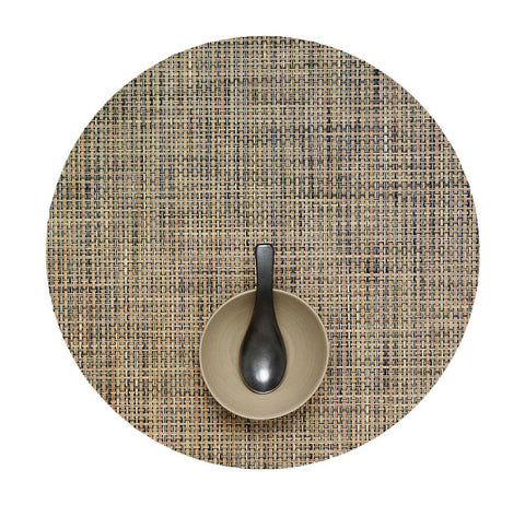 Basketweave Round Placemats by Chilewich