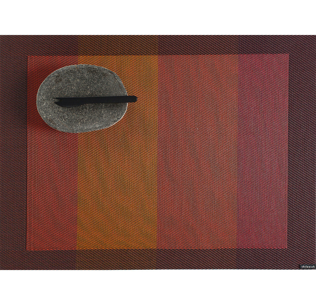 Color Tempo Placemat by Chilewich