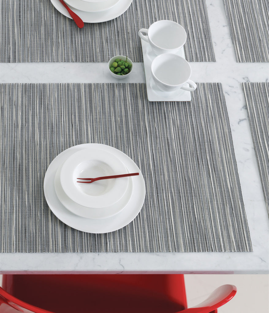 Rib Weave Rectangle Tablemat in Multiple Colors design by Chilewich